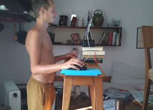 Photos from Standing desk. Anywhere.